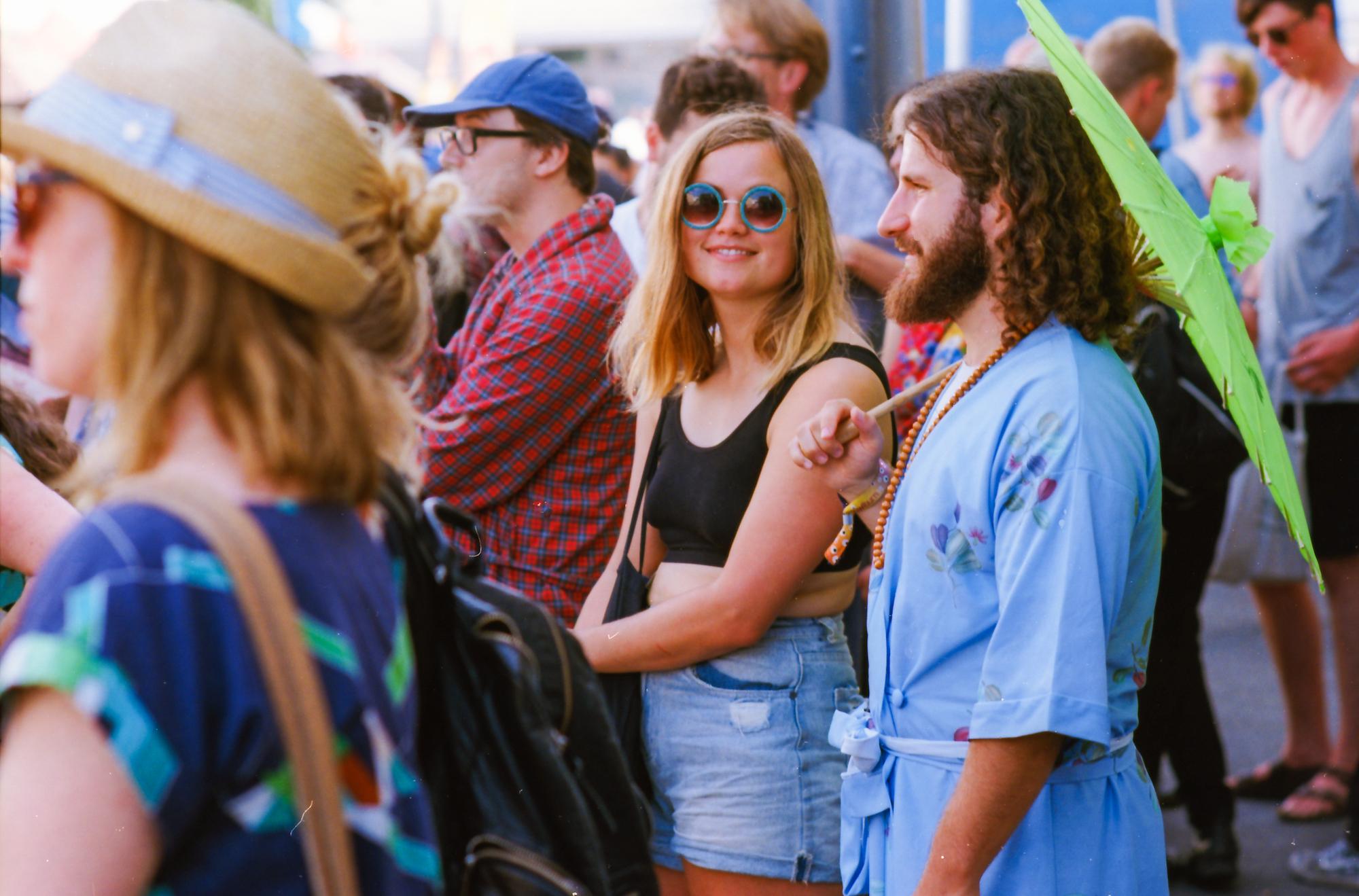 Newtown Festival - Nikon FE2, Nikkor 85mm f2, Ektar 100 35mm film