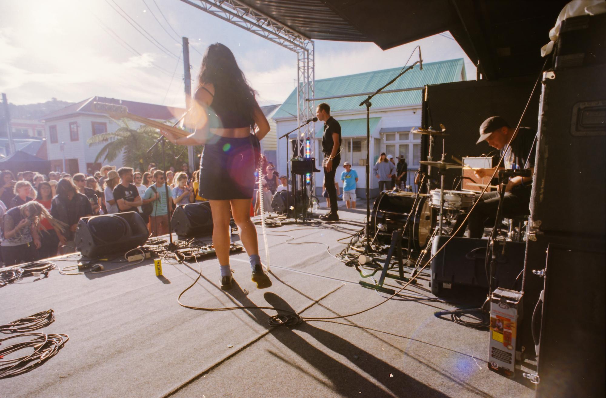 Newtown Festival. Nikon FE2, Nikkor 20mm f3.5. Ektar 100 35mm film