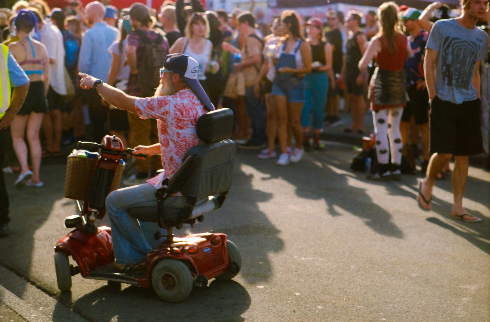 Newtown Festival, Nikon FE2, Nikkor 20mm f3.5, Ektar 100 35mm film