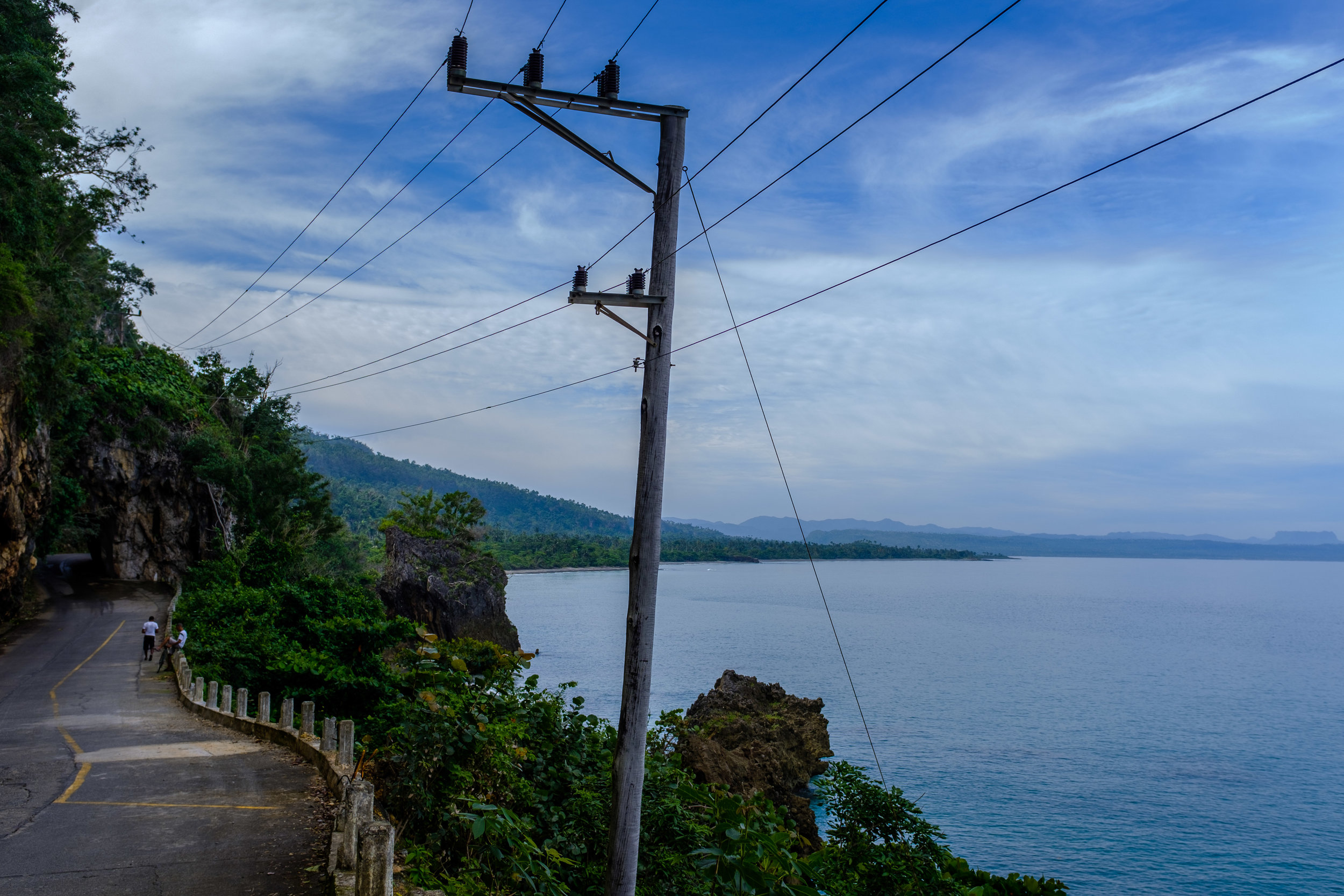 The coast near Baracoa - picture taken on Panasonic GH5