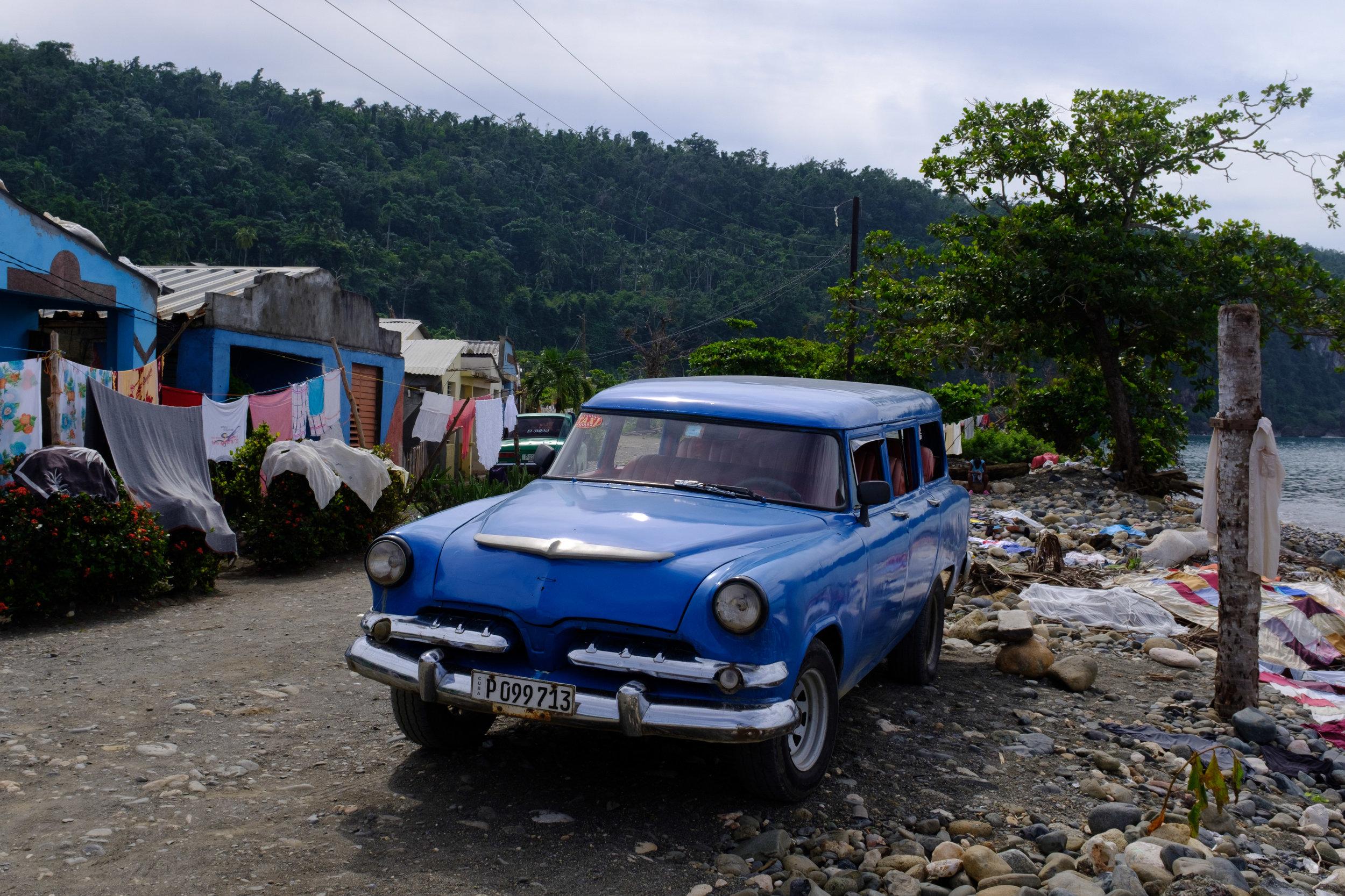 Near Baracoa - picture taken on Fuji X100F