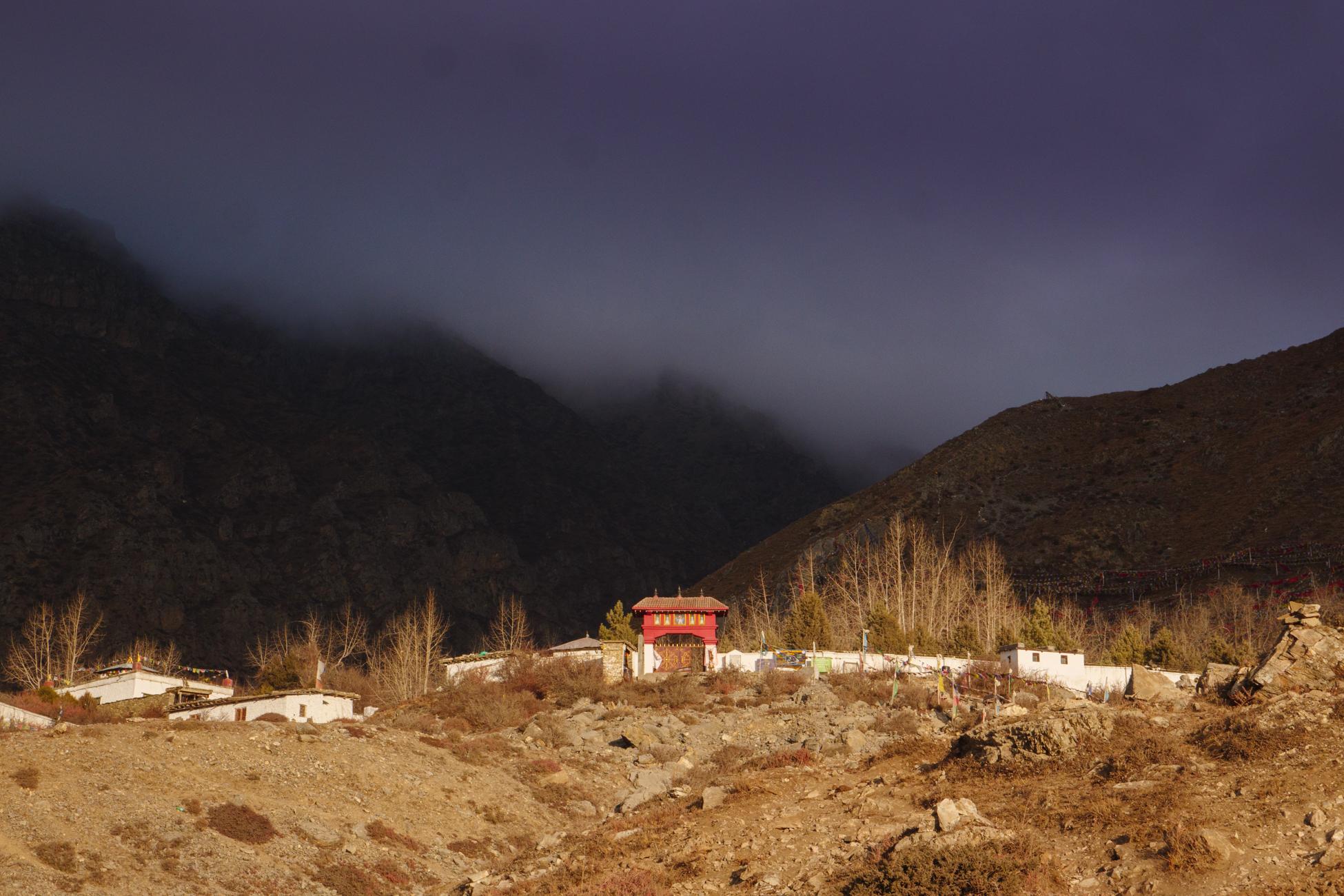 Muktinath Temple entrance
