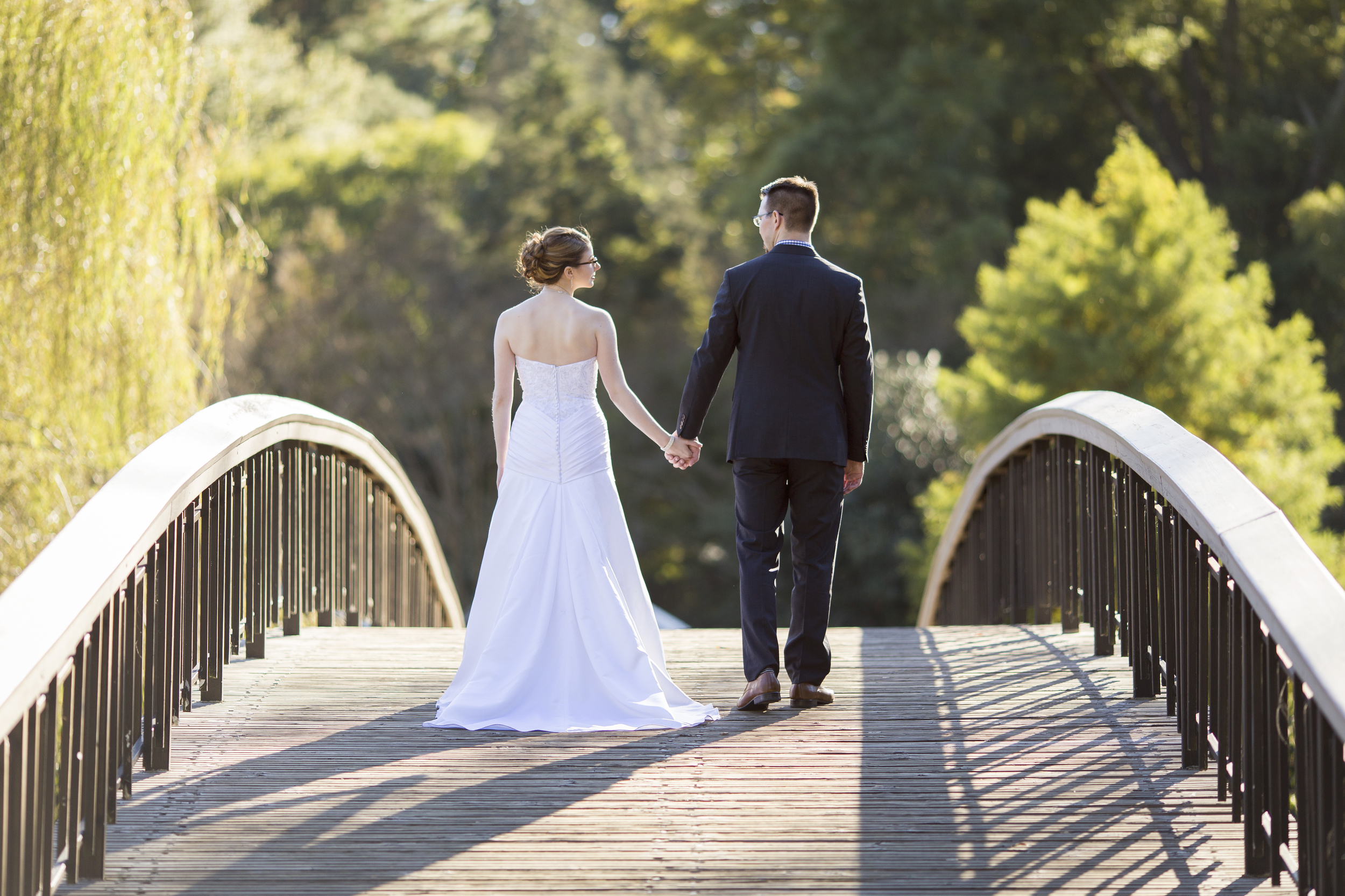 Bride and Groom Photography in Raleigh, North Carolina