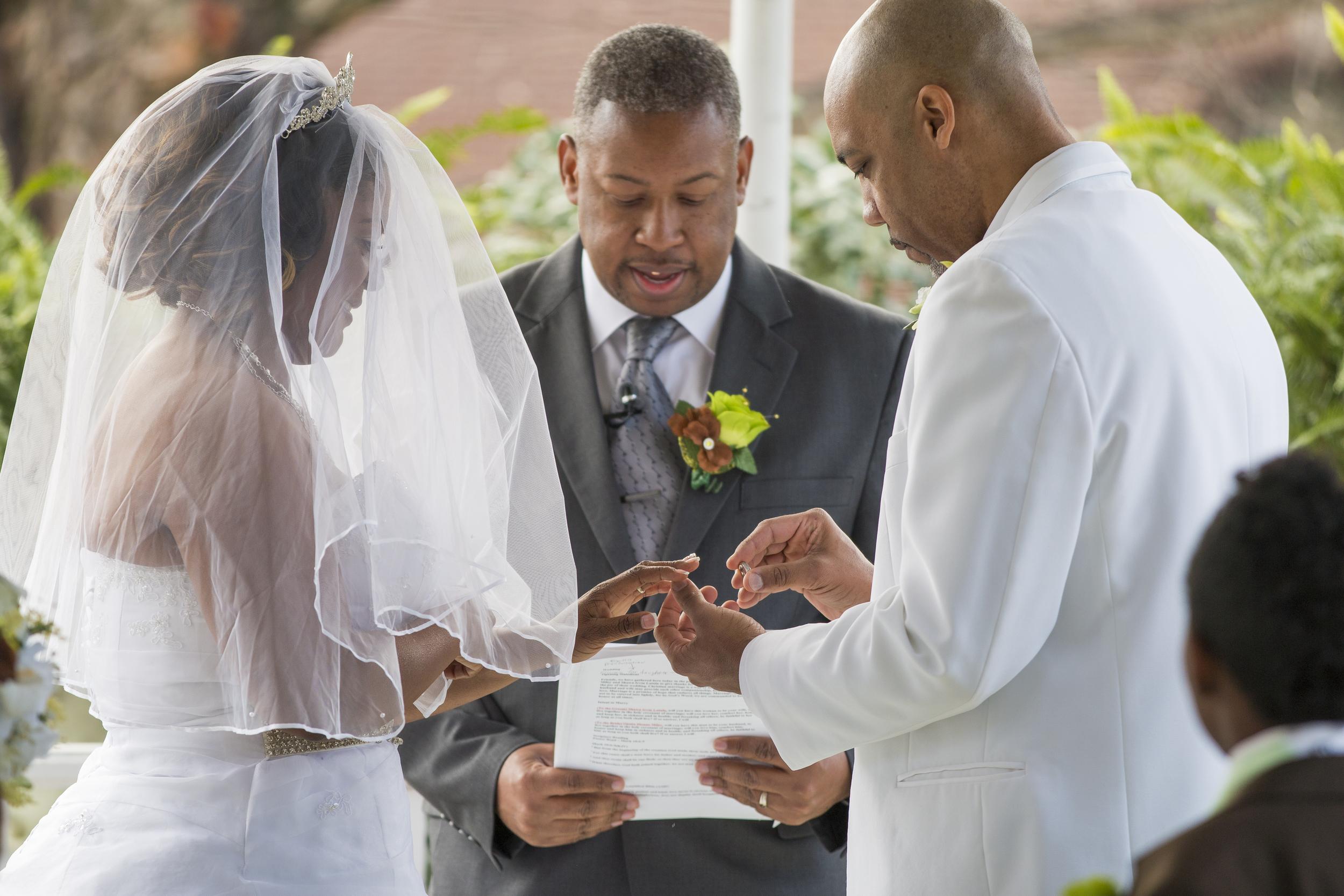 Wedding Ceremony Photographer in Garner, NC