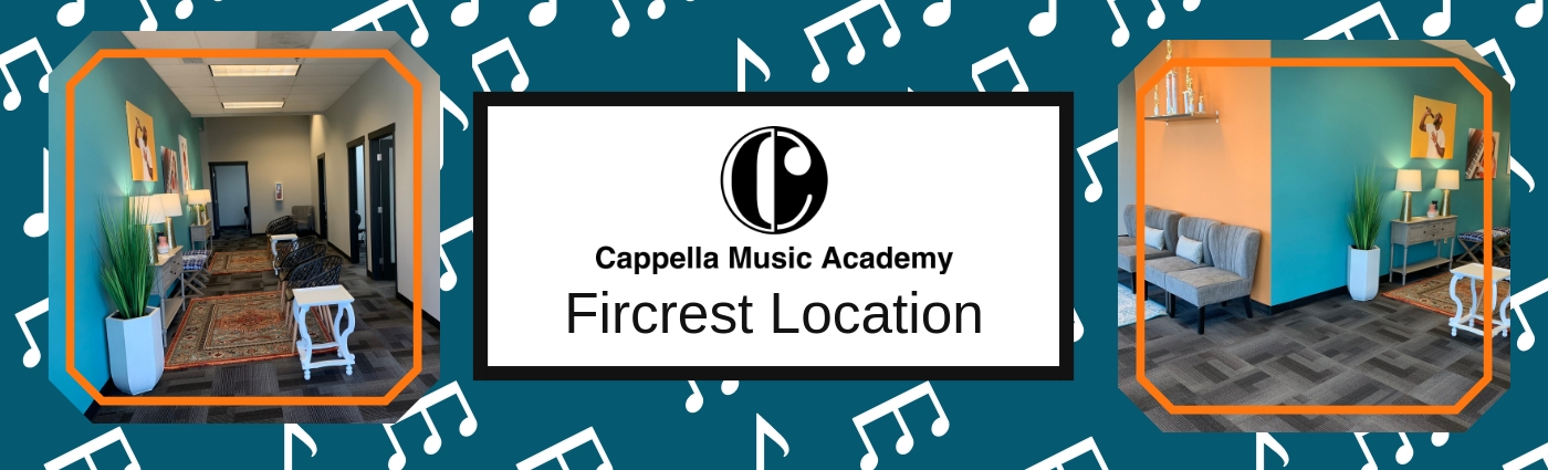 We are excited to announce that our second academy location is open! Across from Tacoma Community College, our instructors and staff are excited to welcome you in! Lyndsey, our front desk admin, will be the first friendly face you see. She will give you a warm welcome, help you find your instructor, and answer any questions you may have about Cappella Music Academy. Some of our instructors you may recognize from our Bonney Lake location, but some we welcomed onto the team specifically for Tacoma!   Featured Fircrest instructor: Kelly Marsh   Kelly Marsh grew up in Puyallup Washington where she began to play the violin at the age of 3. She has 9 plus years of private teaching experience after beginning her own violin studio at 14. Many of her students have found success through AllState and various Honors Orchestras. Throughout her high school career she was chosen to play for All State, All Northwest, Scrooge the Musical at the Champion Center, and many other local groups. After graduating from Rogers High School, she was selected to be a part of the All National Orchestra in Washington DC at the Kennedy Center for Performing Arts. She studied Violin Performance and Music Education at Central Washington University and Seattle University during which she was a camp counselor for the well know Kairos Music Festival. Drawing from the Suzuki and traditional methods, she caters her unique teaching style to all ages.