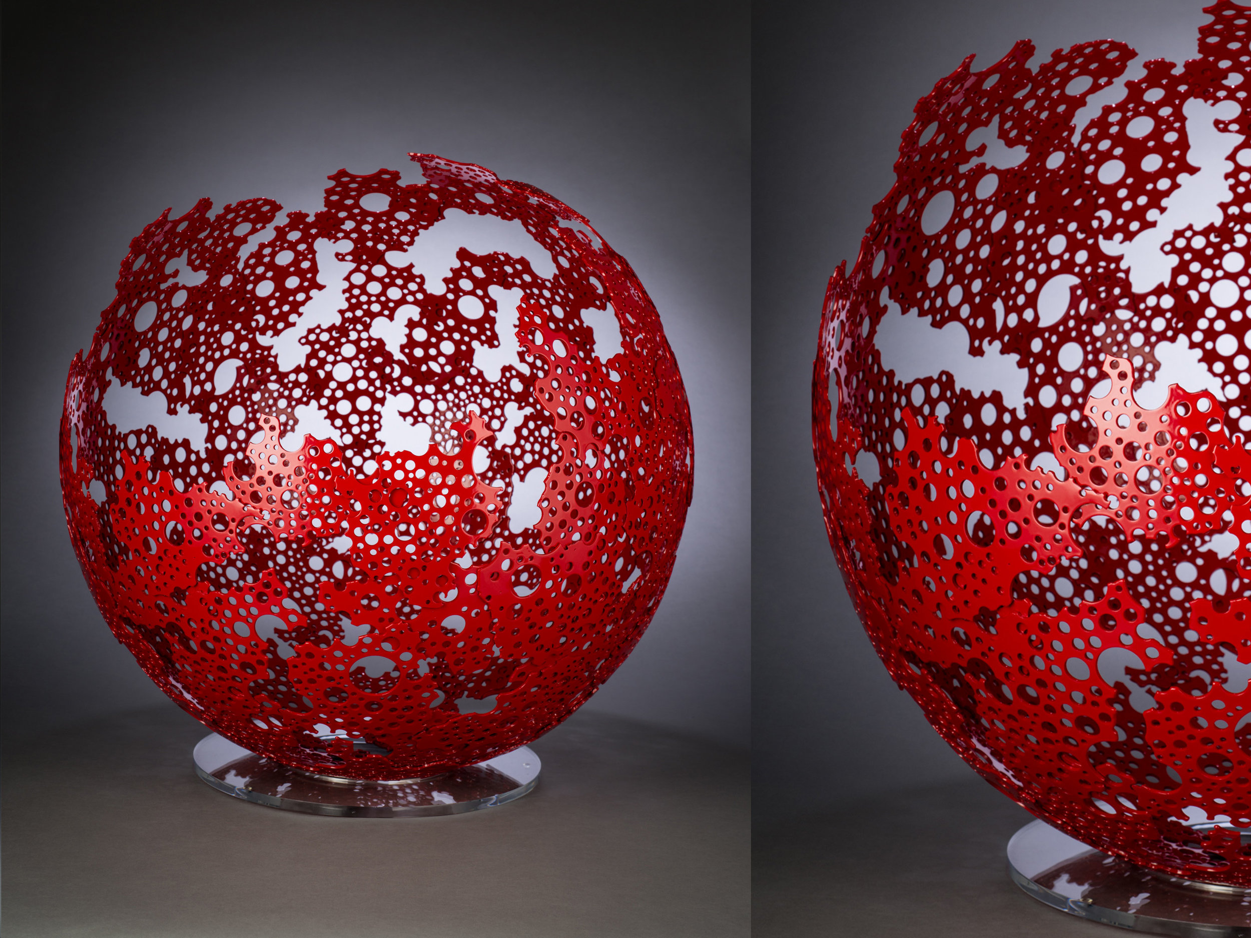 Red Shadow Sphere