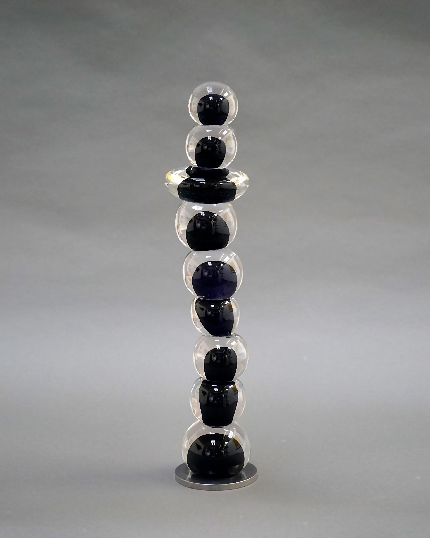 Untitled | Steel Blue Black
