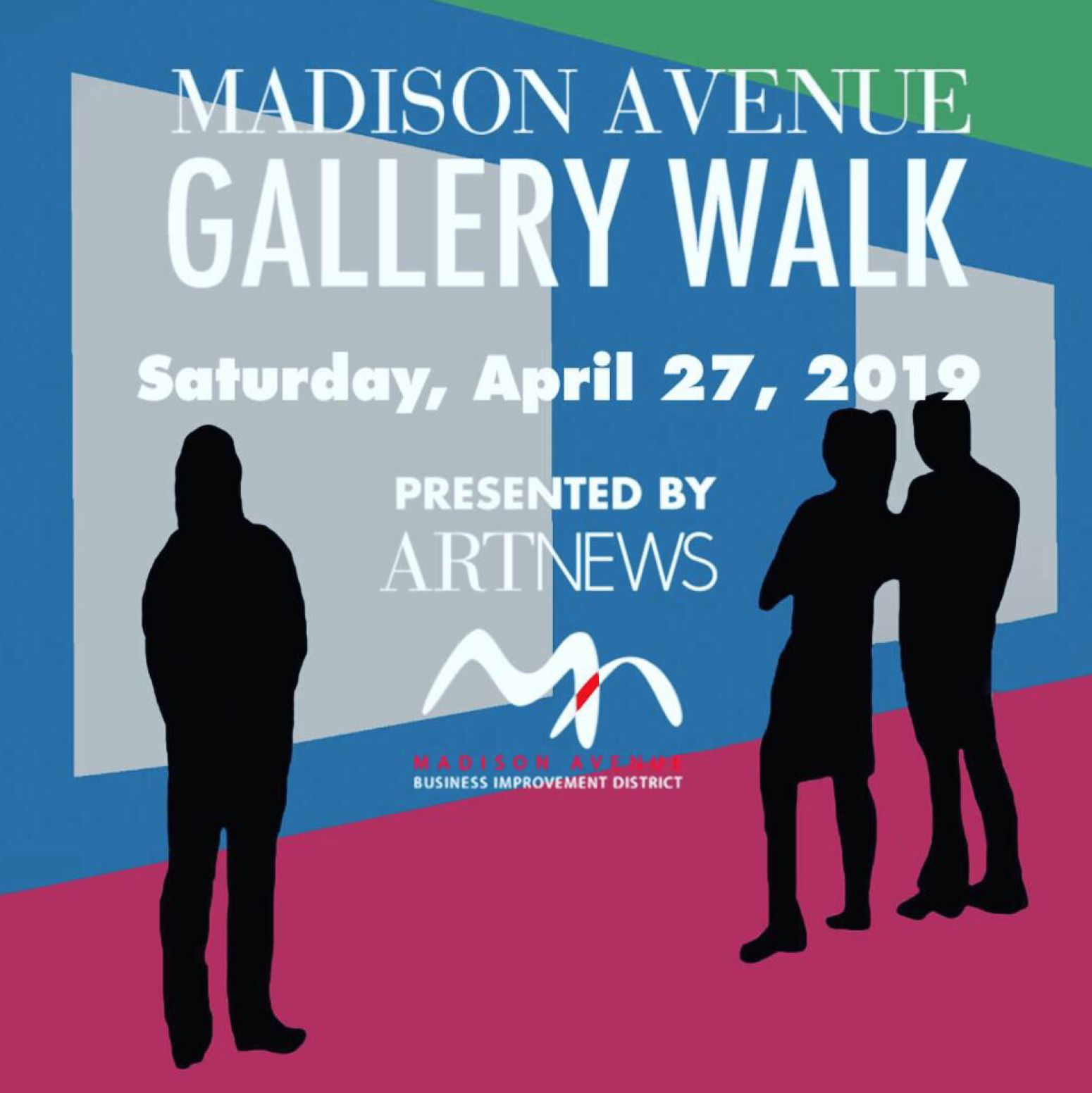 4/27/19 - NYC | Gallery Walk | 10-8pmCome visit 49 galleries and attend over sixty events led by curators and artists on Madison Avenue and its adjacent side streets from East 57th St to East 86th St. Be sure to check out these two other locations featuring our gallery artists: Alexandre Birman @alexandrebirman 957 Madison Ave., and Smythson @smythson 667 Madison Ave.