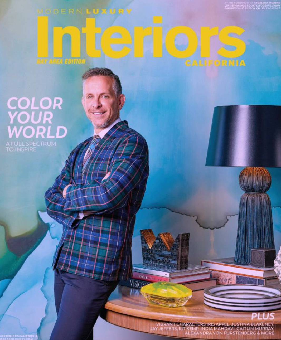 10/8/19 - Jay Jeffers Book Signing | 11am - 1pmIllustrated talk and book signing with San Francisco designer Jay Jeffers, known for his bold and polished interiors. He owns one of the coolest design stores in San Francisco, JayJeffers – The Store, filled with bespoke furniture and objects from his travels.Decorations: Elle Decor A List, published in top design magazines.Book: Jay Jeffers: Be Bold, Bespoke Modern Interiors (Gibbs-Smith, October 2018)Collabs: Arteriors, and architectural hardware for Accurate Lock & hardware.Where: Christopher Martin Gallery, Dallas Design District, 1533 Dragon Street.