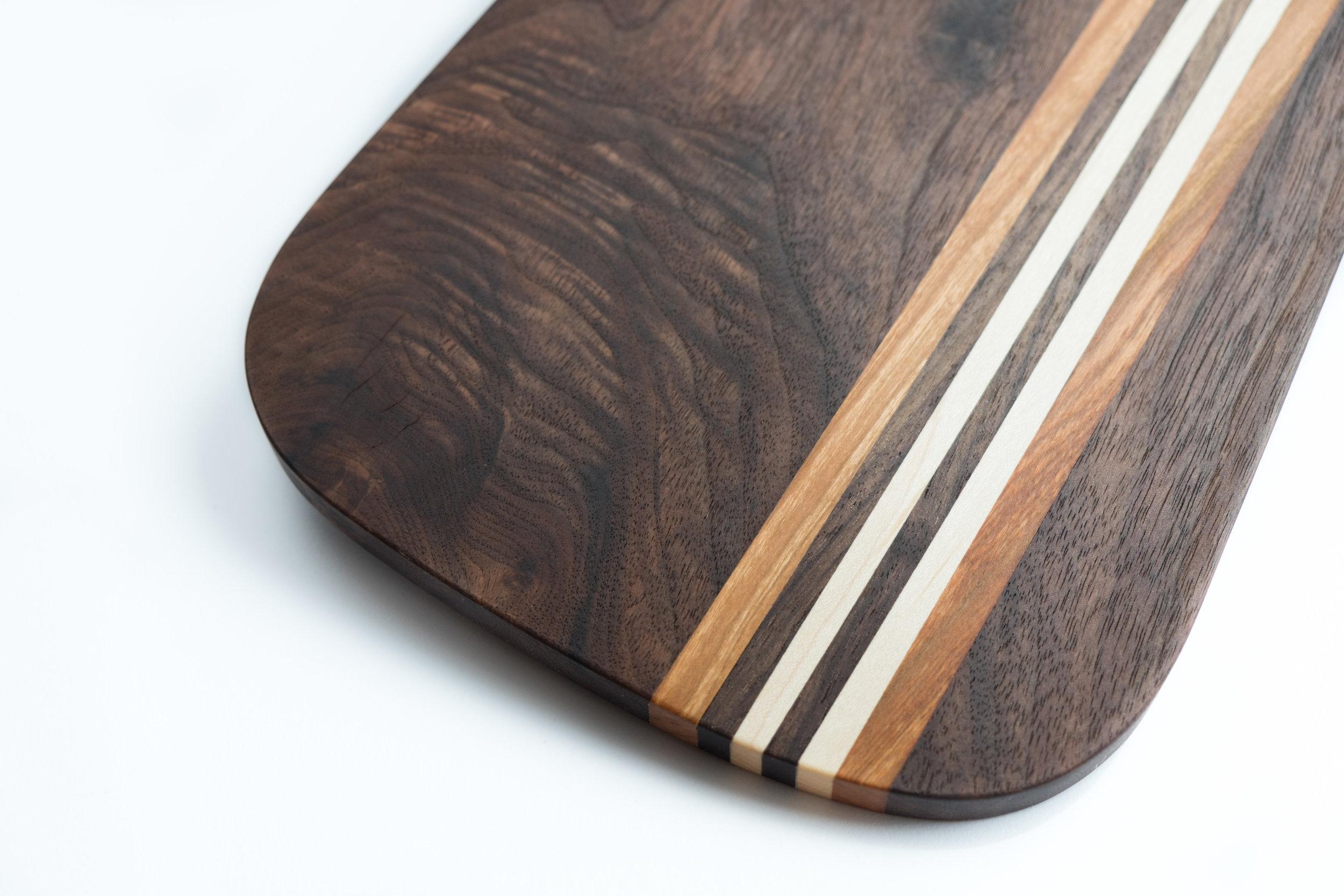 Walnut Breadboard Detail