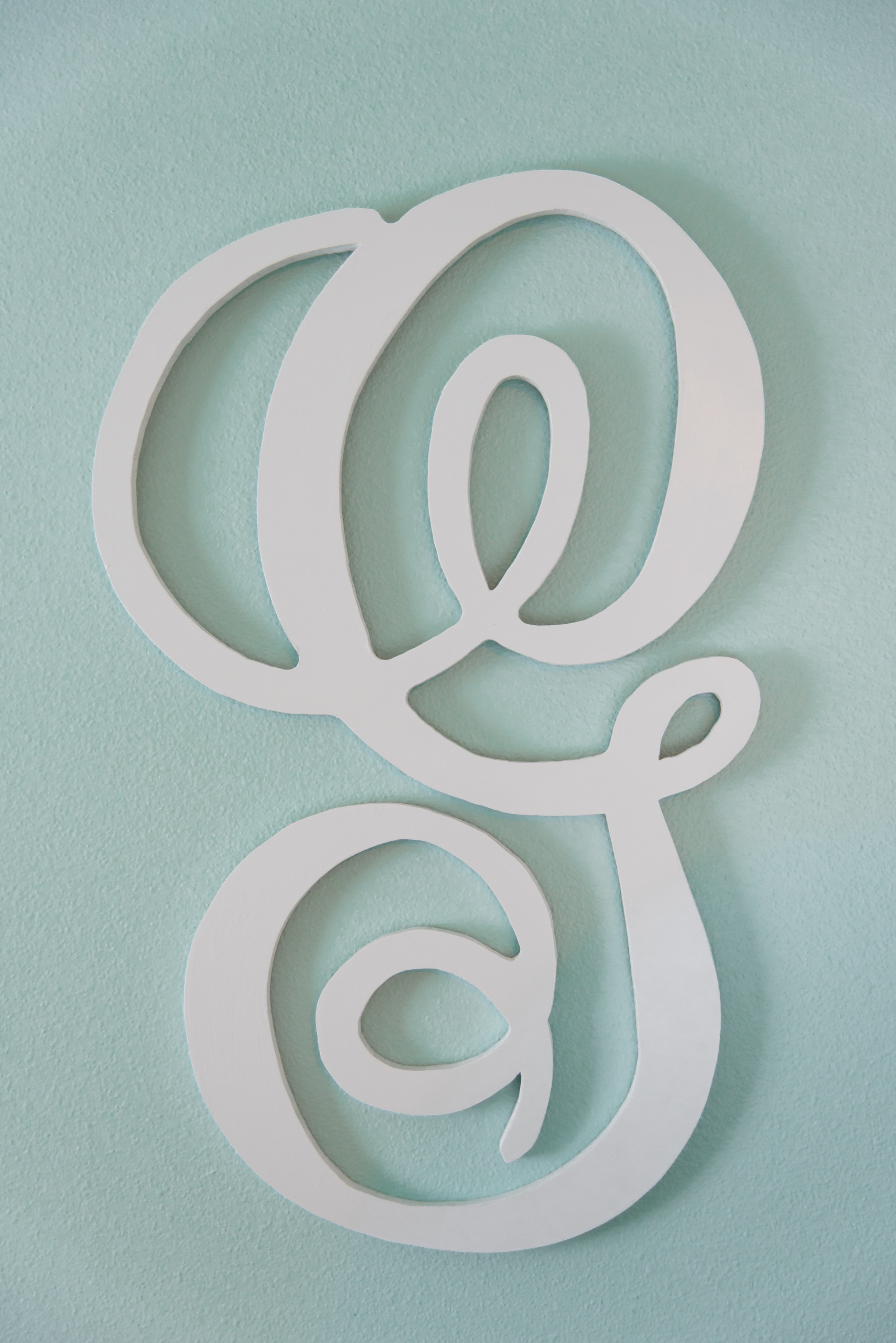 "Scroll ""G"" for the kid's room"