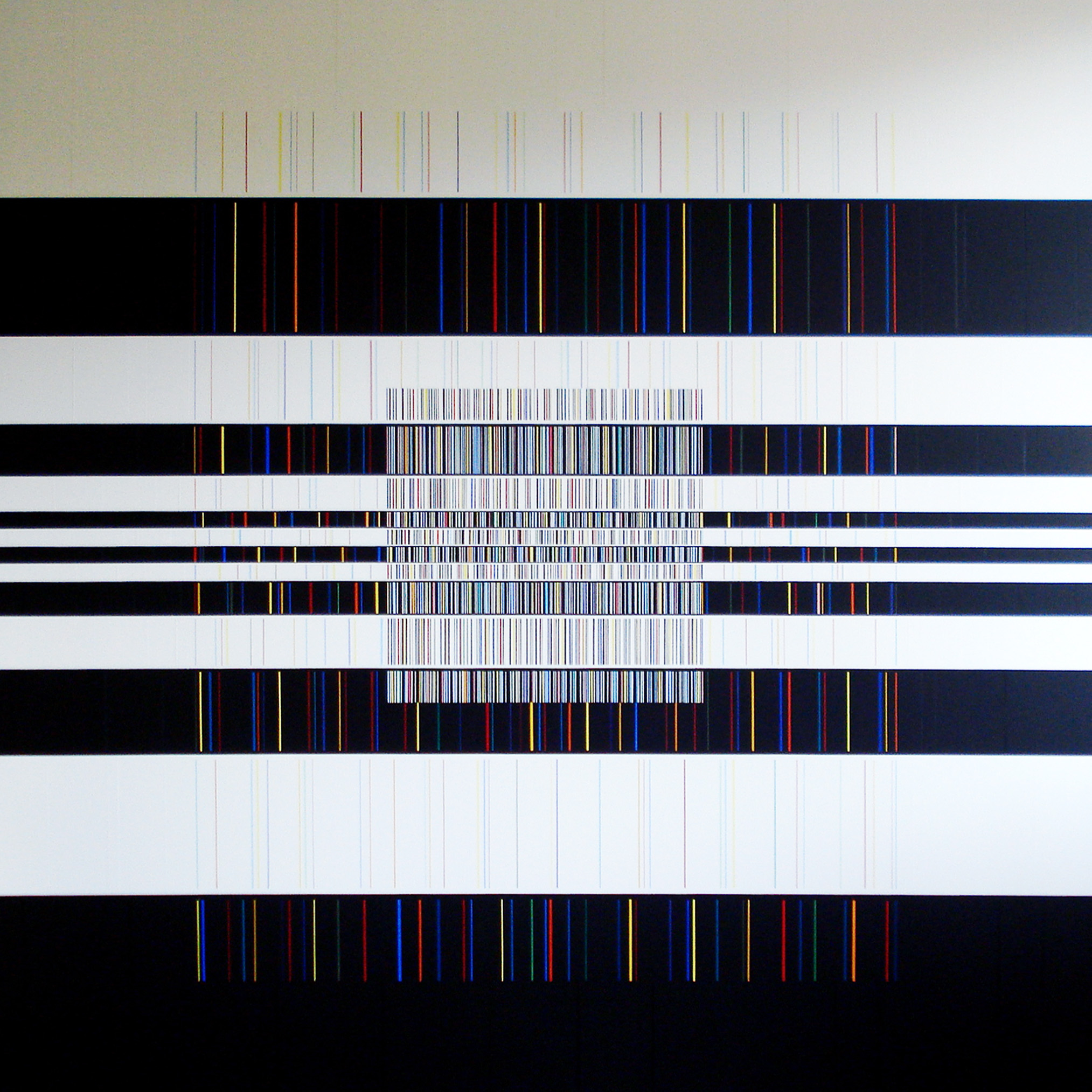 Painting 2008, acrylic on canvas, 78x78 in. [198x198cm]