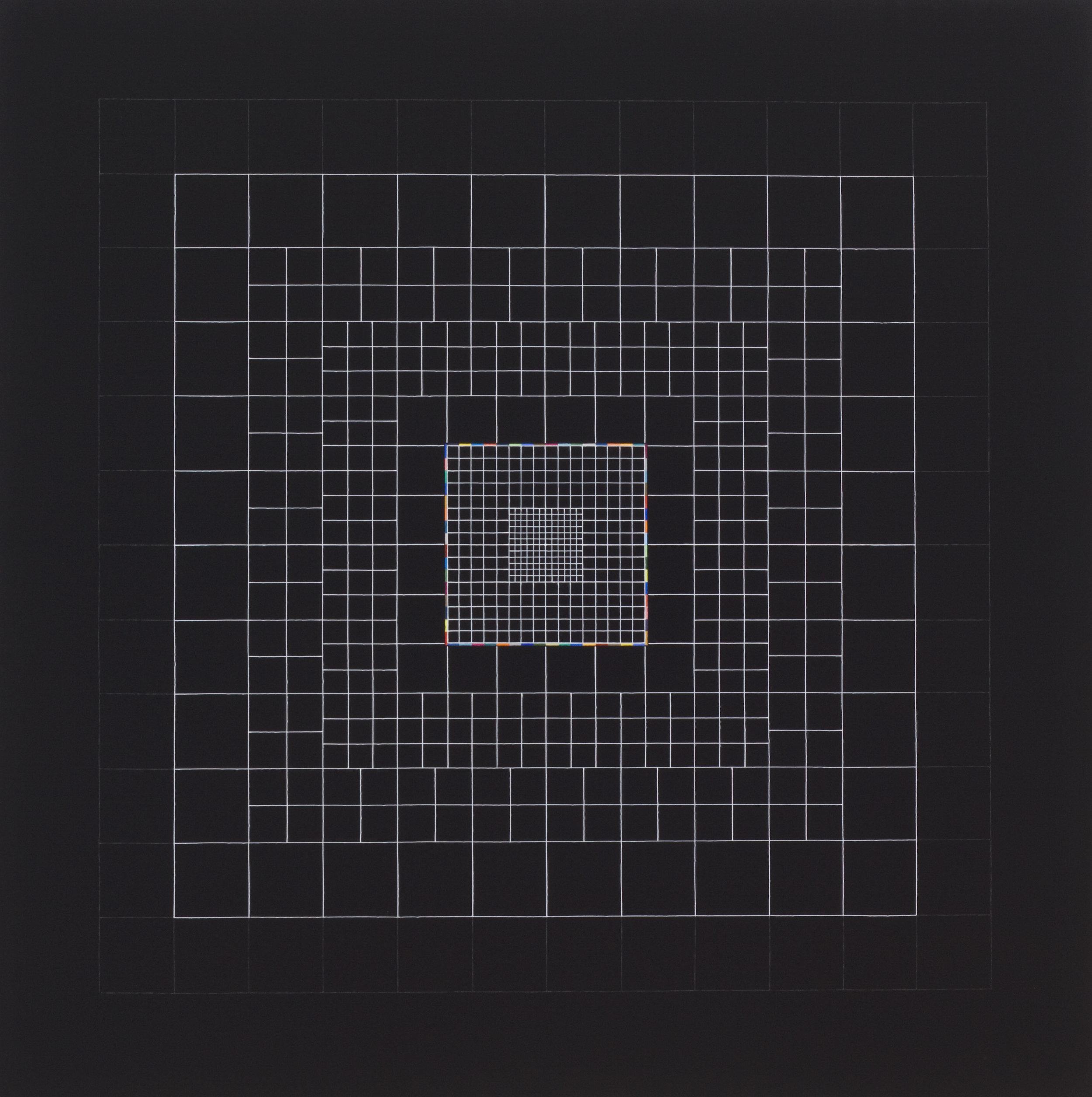 Yantra-ipsum-creator(1)2013.Sep, acrylic on canvas, 29 1/2 x 29 1/2 in. [75x75cm]