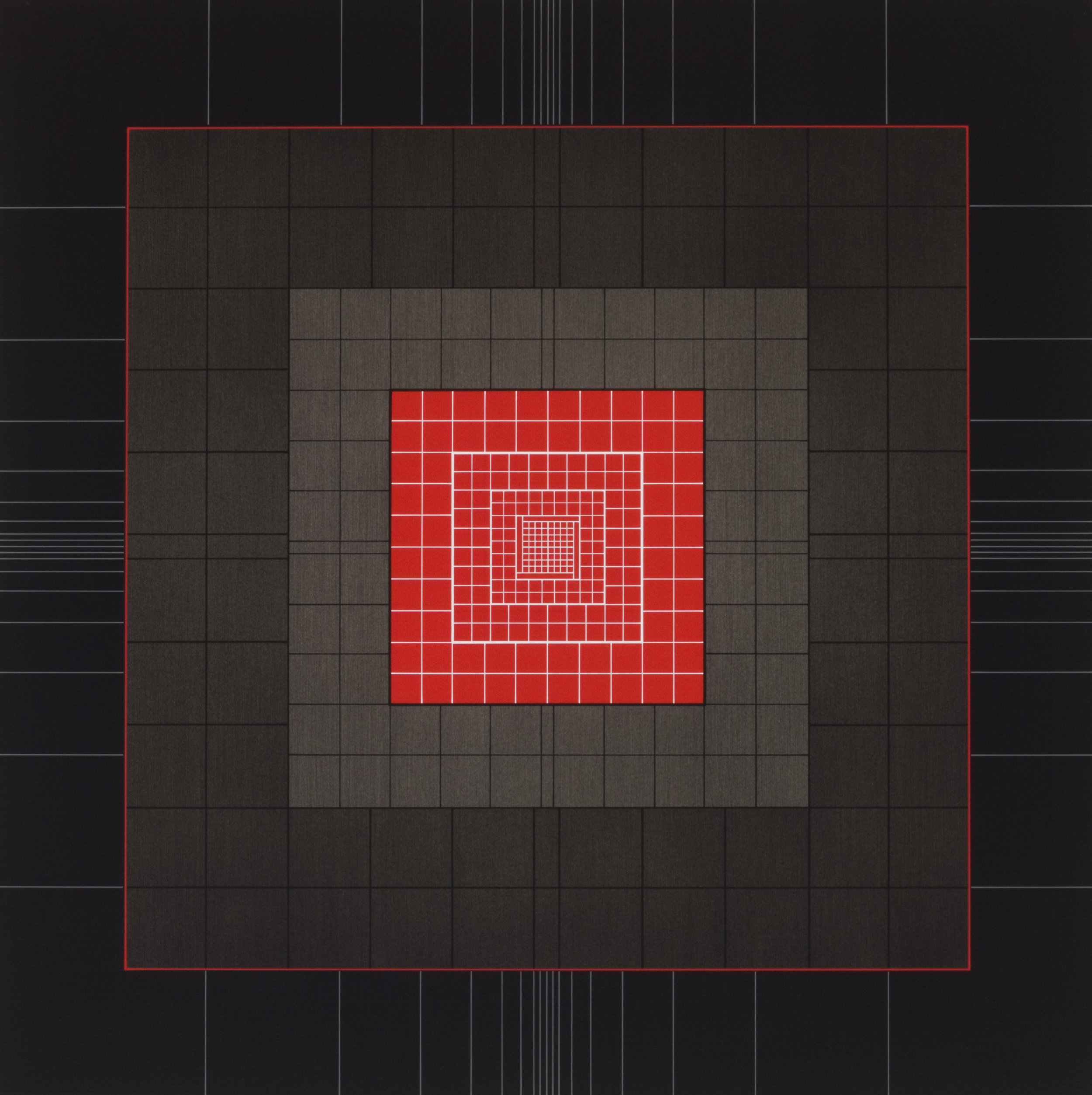 Yantra-ipsum-creator(4)2013.Jan, acrylic on canvas, 29 1/2 x 29 1/2 in. [75x75cm]