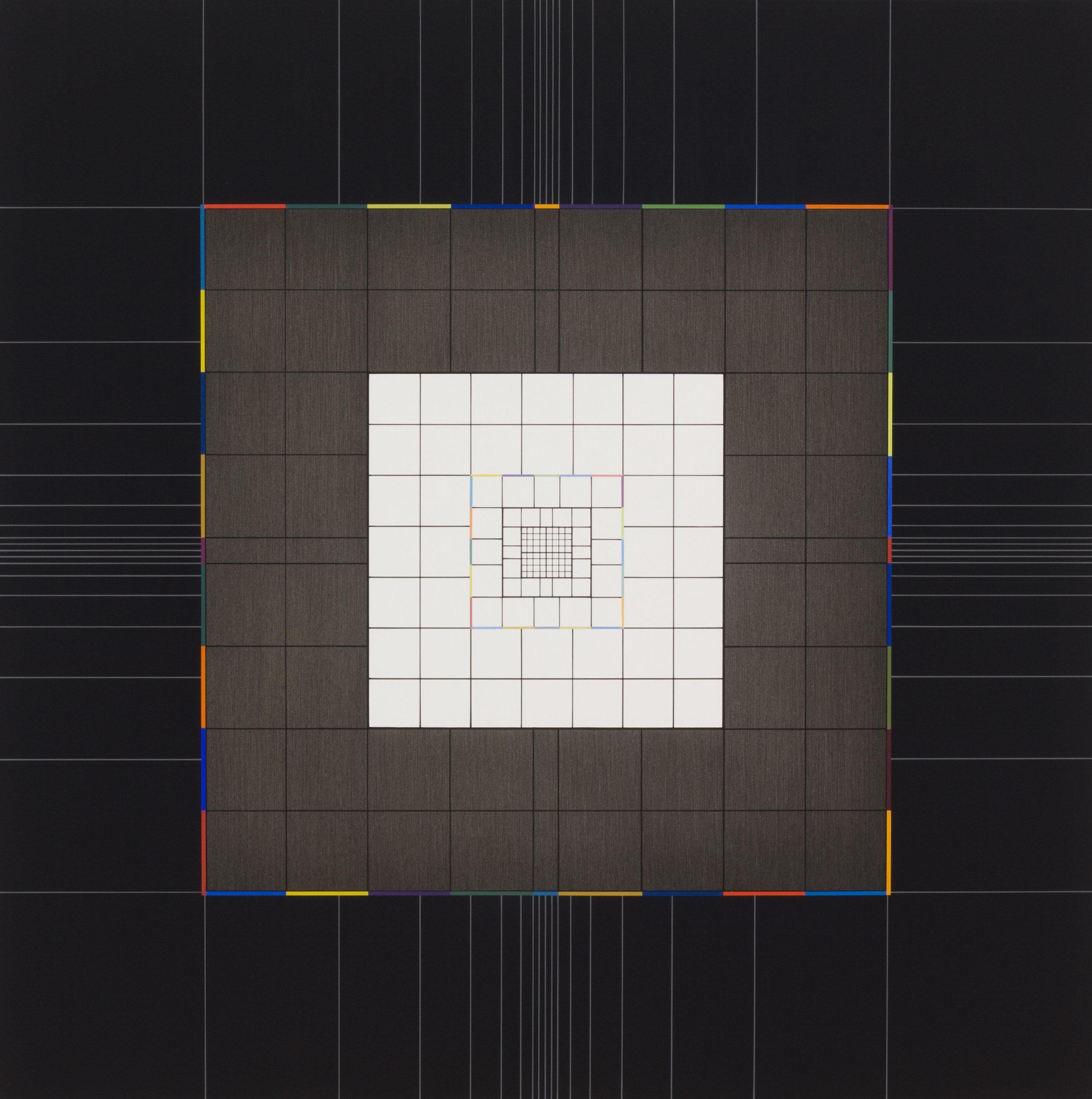 Yantra-ipsum-creator(3)2013.Jan, acrylic on canvas, 29 1/2 x 29 1/2 in. [75x75cm]