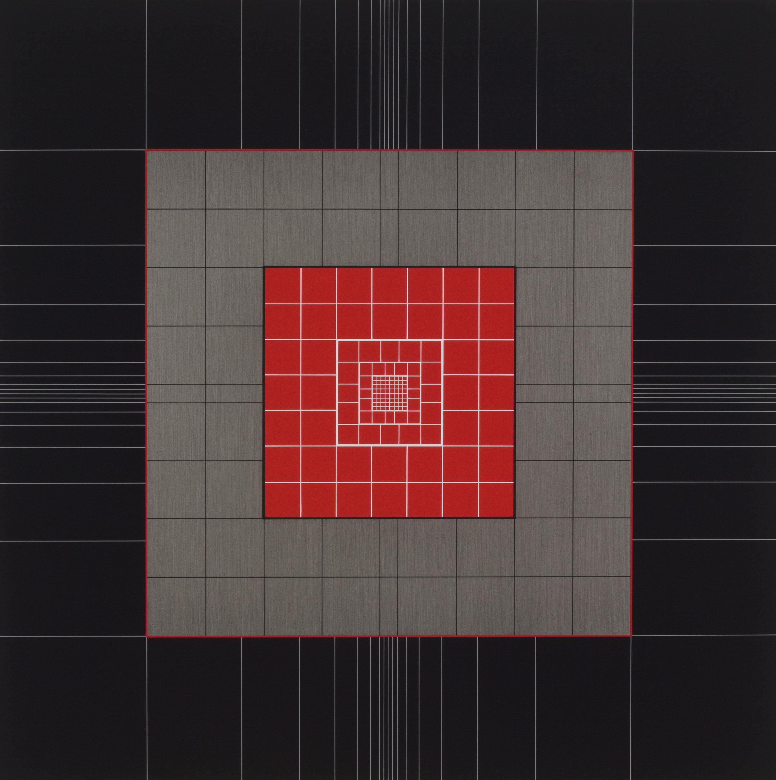 Yantra-ipsum-creator(1)2013.Jan, acrylic on canvas, 27 5/8 x 27 5/8 in. [70x70cm]
