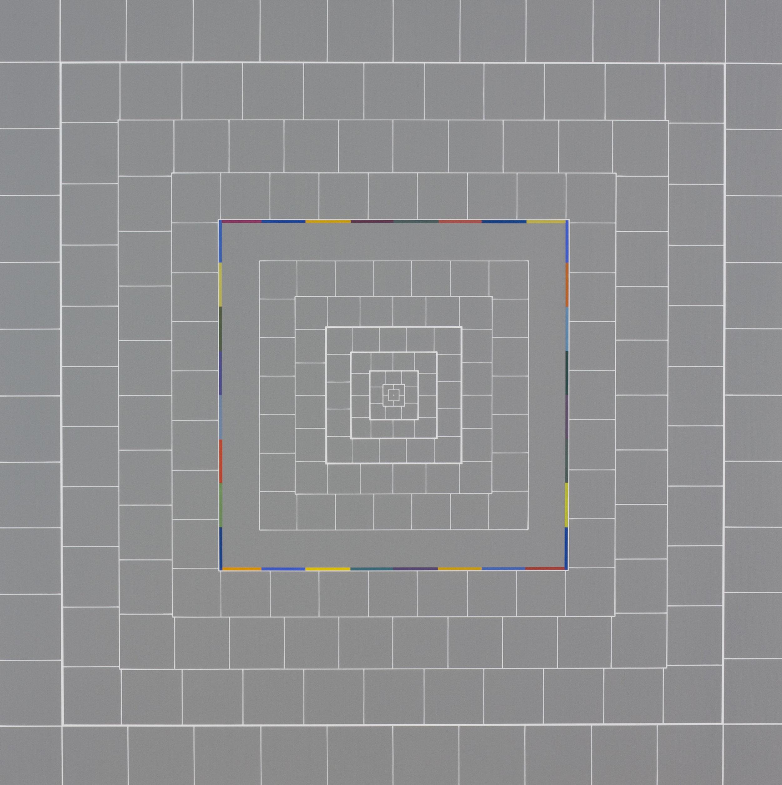 Yantra-ipsum-creator(1)2013.Feb, acrylic on canvas, 31 1/2 x 31 1/2 in. [80x80cm]