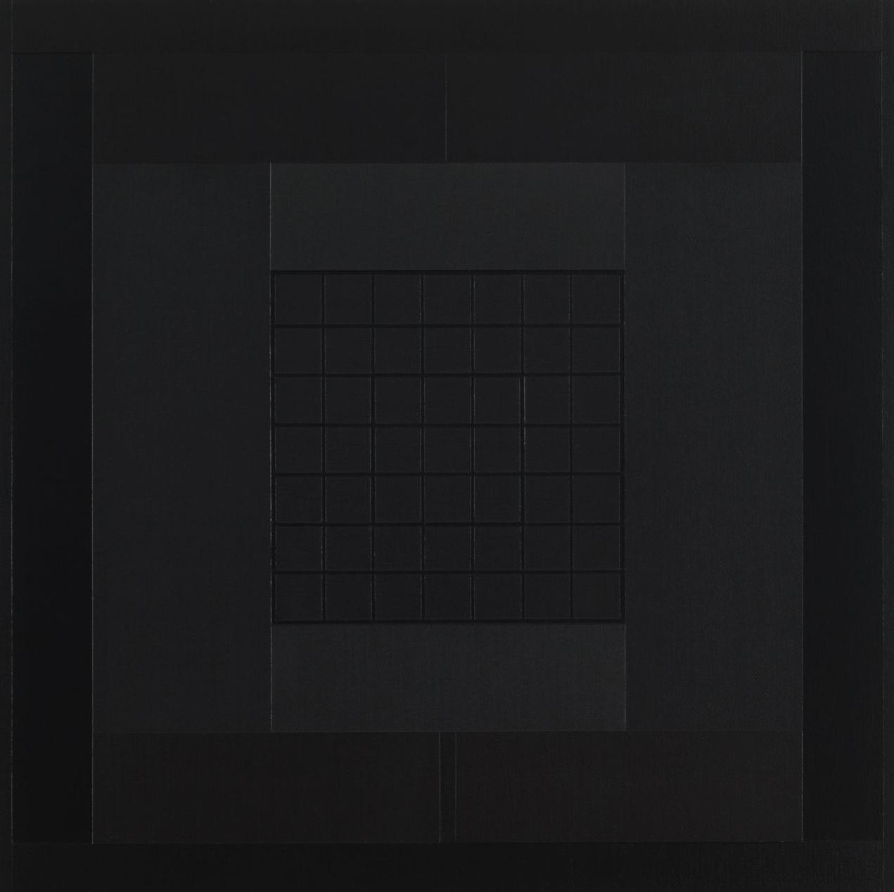 Yantra-ipsum-arkhē(1)2011.Jan, acrylic on canvas,  17  3/4 x  17  3/4 in. [45x45cm]-2