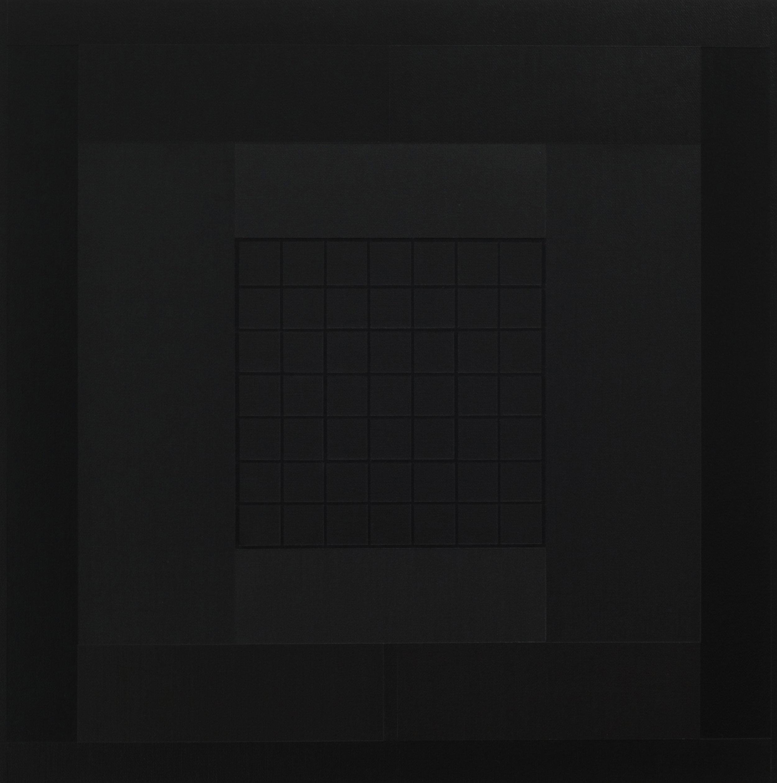Yantra-ipsum-arkhē(1)2011.Jan, acrylic on canvas, 17 3/4 x 17 3/4 in. [45x45cm]