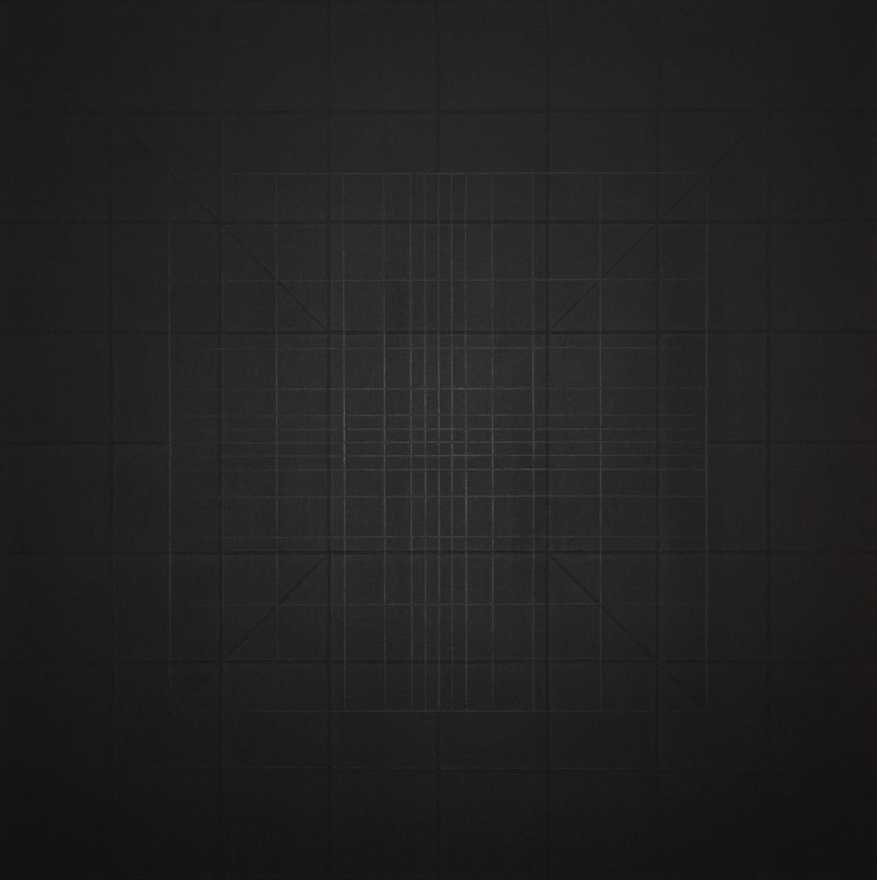 Yantra-ipsum-arkhē(1)2011.Feb, acrylic on canvas, 35 7/16 x 35 7/16 in. [90x90cm]-2