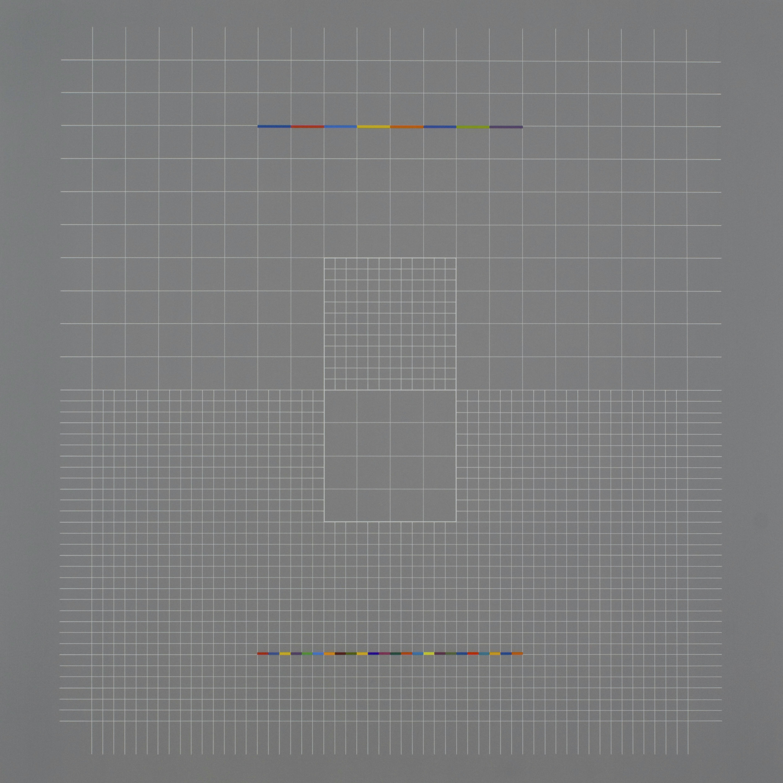 Yantra-ipsum-inversus(1)2013.Mar, acrylic on canvas, 35 7/16 x 35 7/16 in. [90x90cm]
