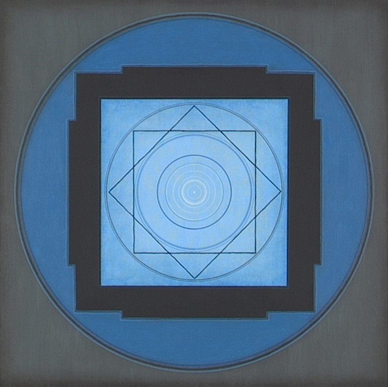 Yantra-ipsum-ipsum(1) 1998, acrylic, on wood, 11 13/16 x 11 13/16 in. [30x30cm]