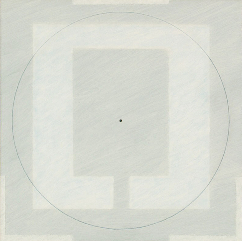Yantra-ipsum,2001, acrylic, on wood, 11 13/16 x 11 13/16 in. [30x30cm]