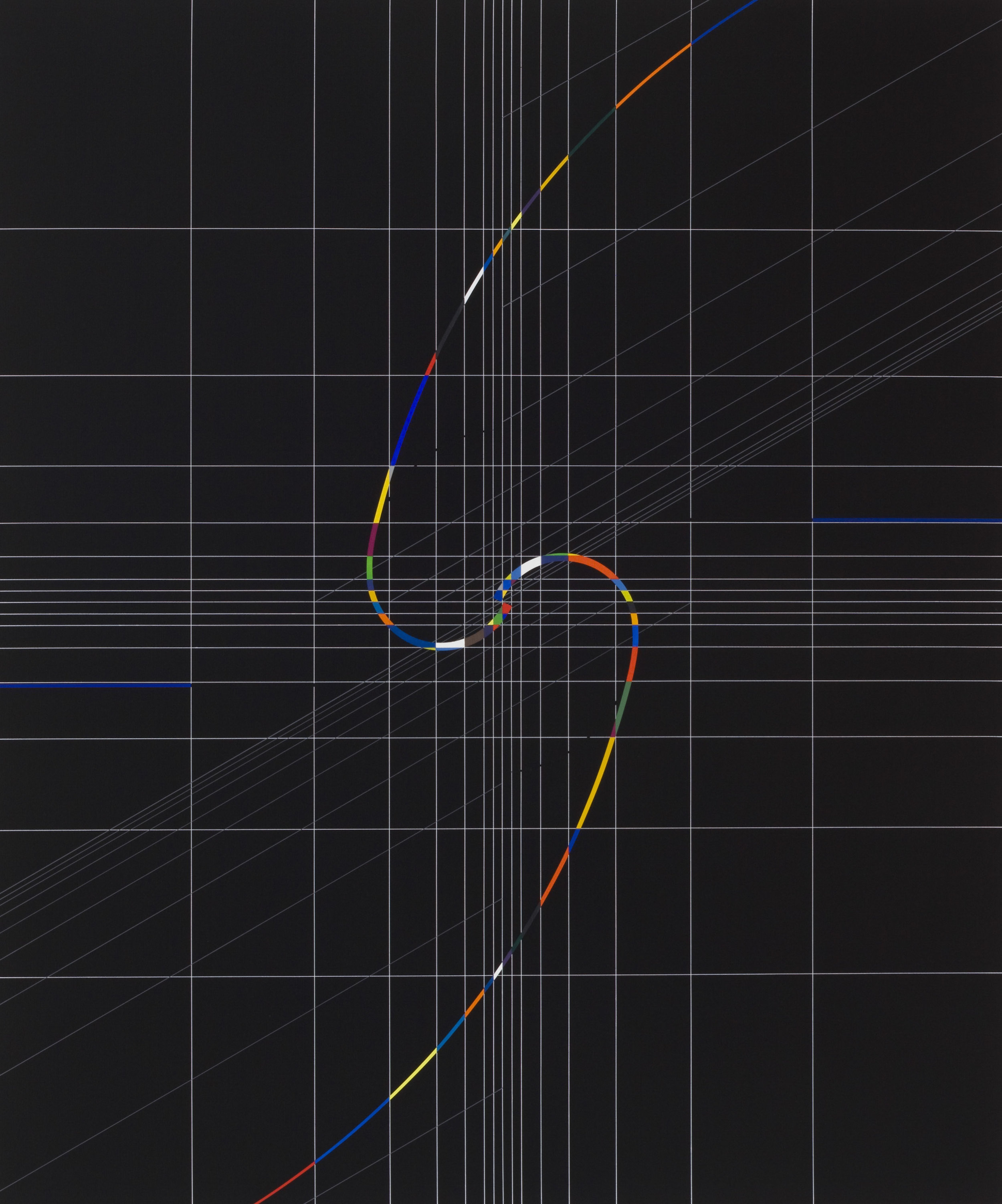 Yantra-ipsum-samsara(1)2012.Dec, acrylic on canvas, 35 7/16 x 29 1/2 in. [90x75cm]