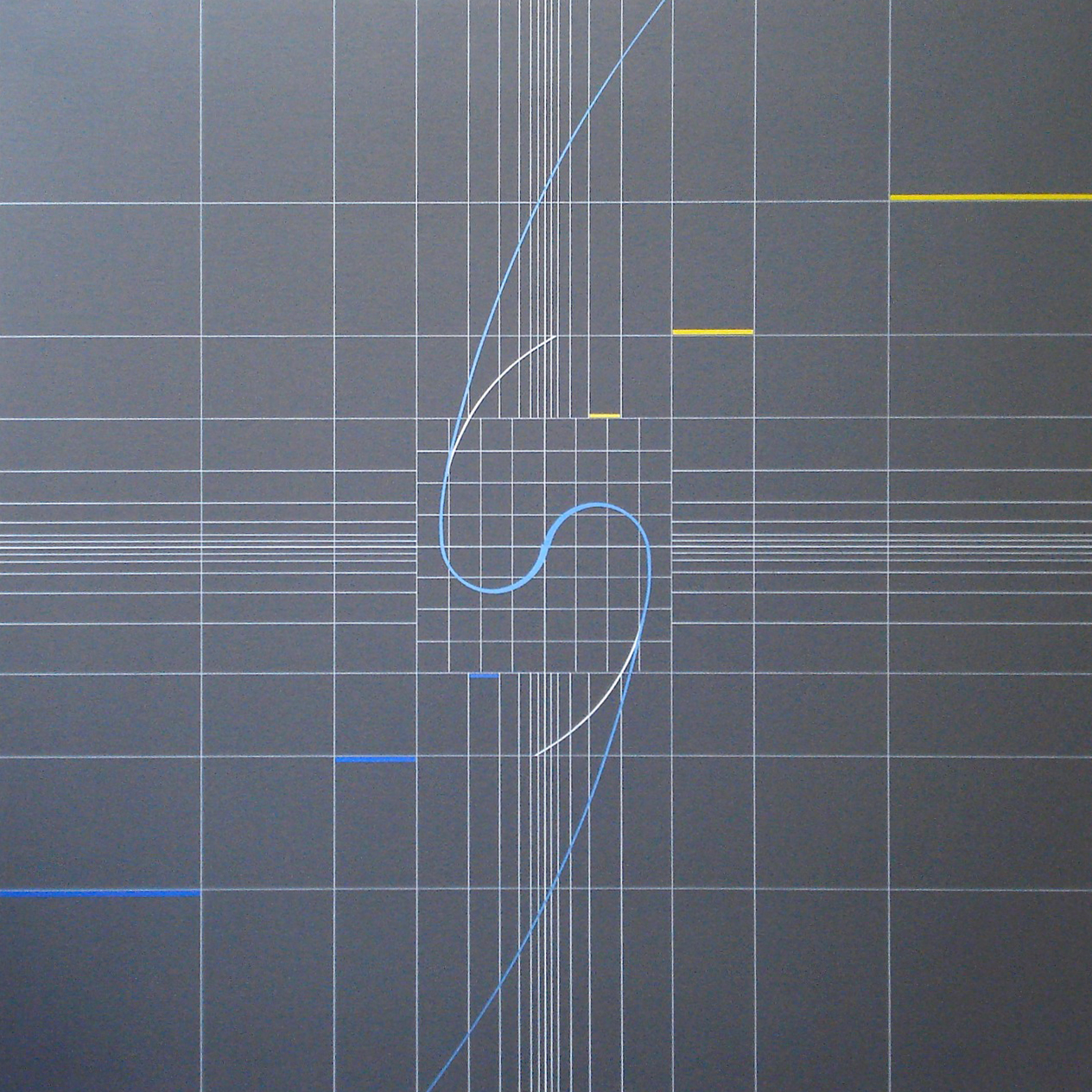 Yantra-ipsum-samsara(3)2011.Sep acrylic on canvas, wood, 23 5/8 x 23 5/8 in. [60x60cm]
