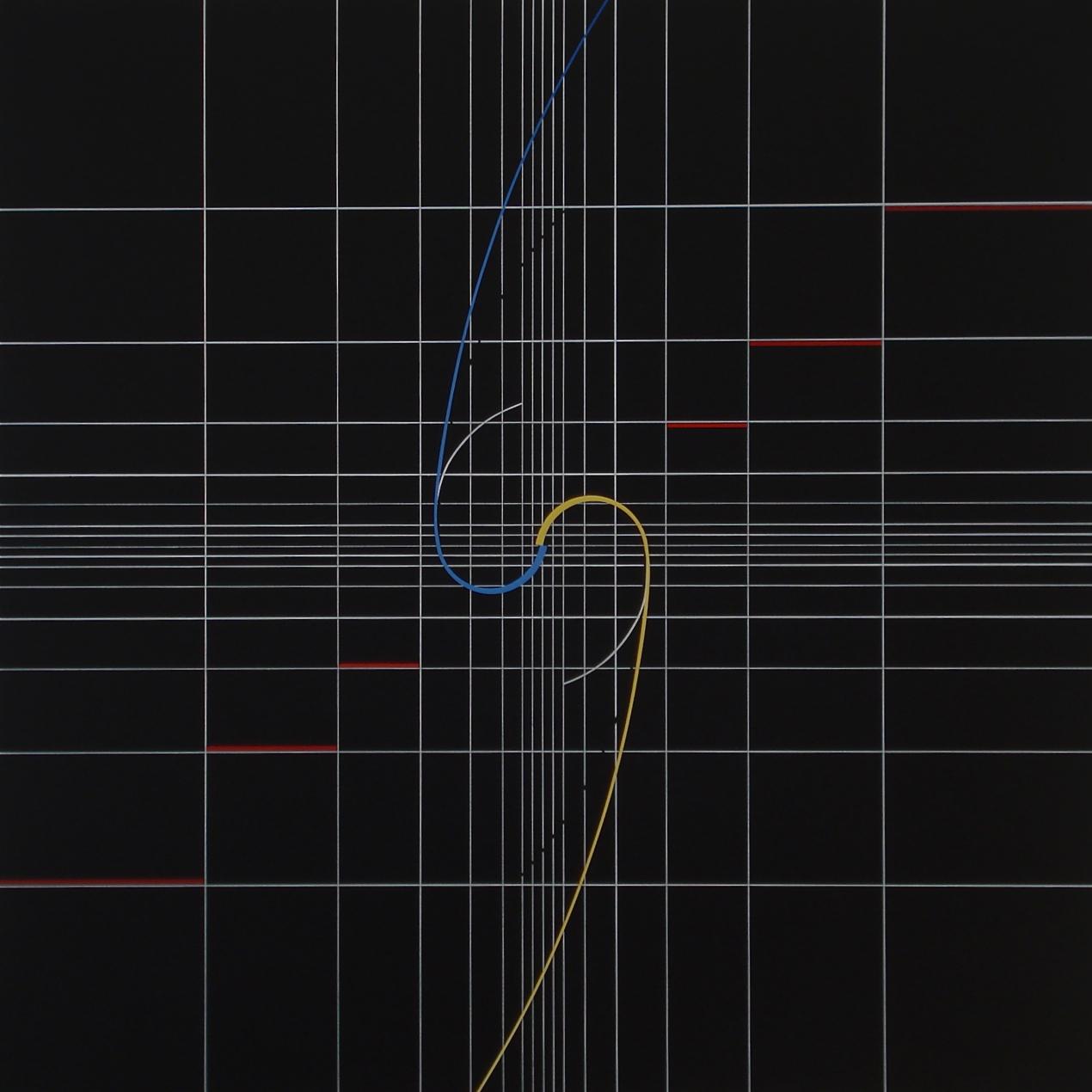 Yantra-ipsum-samsara(1)2011.Sep acrylic on canvas, 23 5/8 x 23 5/8 in. [60x60cm]