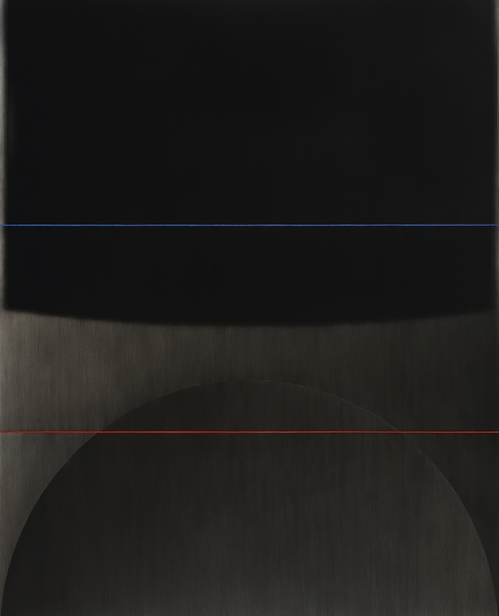 On two ways, 2005, acrylic on canvas, 118 1/18 x 98 7/16 in. [300x250cm]