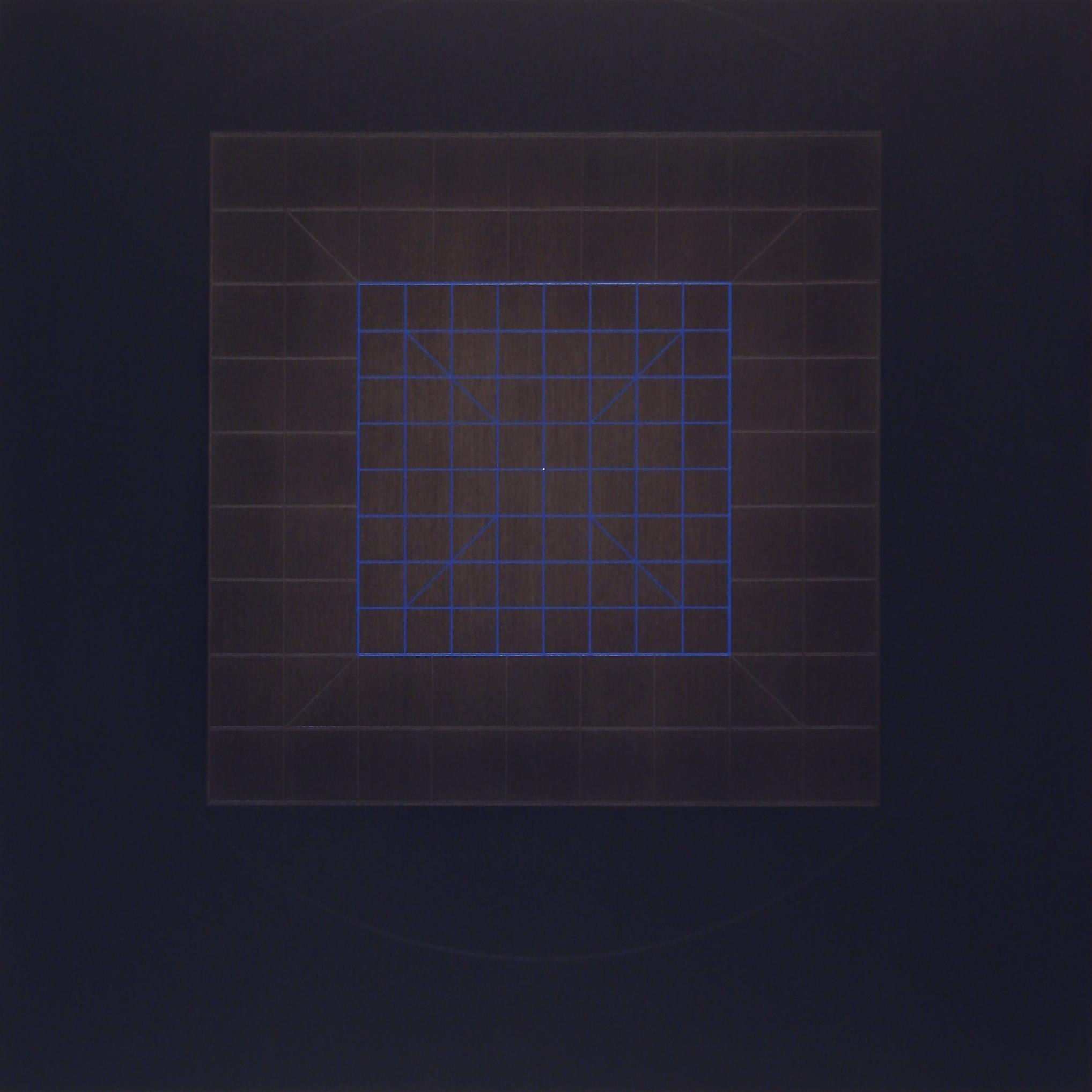 Catharsis-cosmometry-ativarna-brahmana [Diptych-2]-[20170927], 2017, acrylic on canvas, 17 3/4 x 15 3/4 in. [75x75cm]