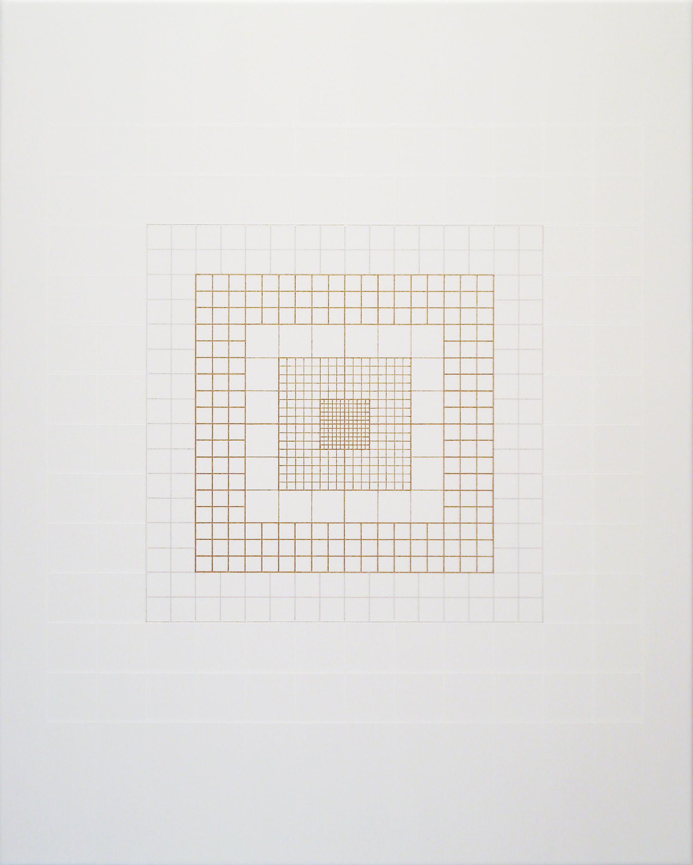 Yantra-origo-metrum [20180512], 2018, acrylic on canvas, 29 1/2 x 23 5/8 in. [75x60cm]