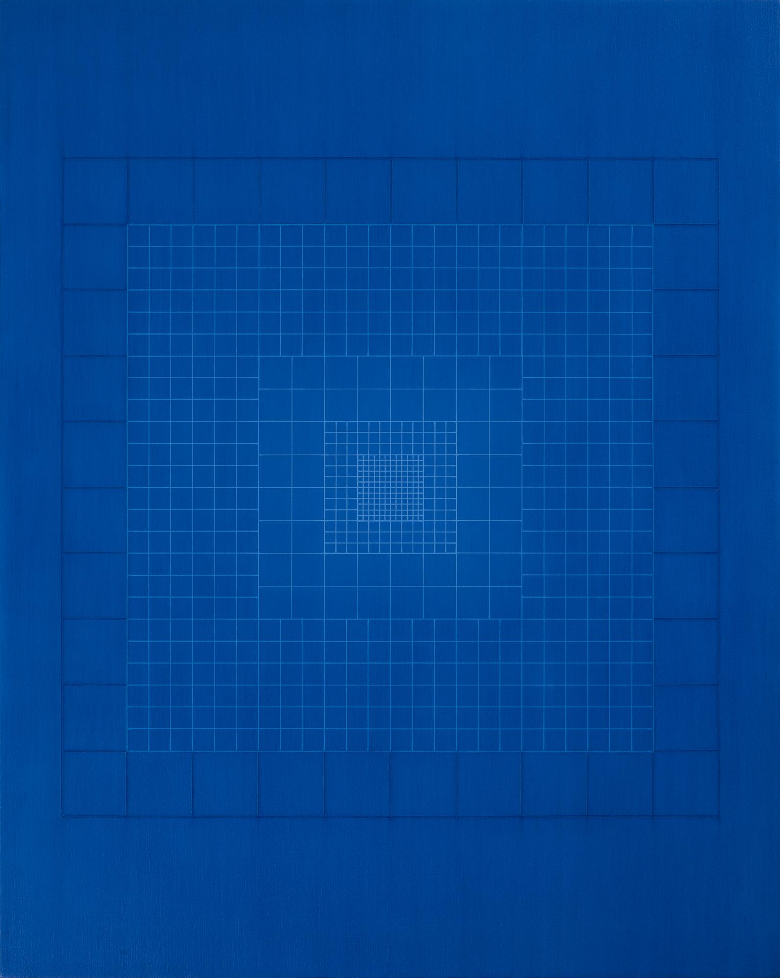 Silent-origo-metrum[20181012], 2018, acrylic on canvas, 29 1/2 x 23 5/8in.[75x60cm]