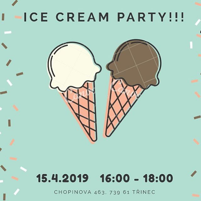 #trashtagtrinec Ice Cream Party today! Come hang with us!  #exittrinec2019 #exittour #livingroomtrinec