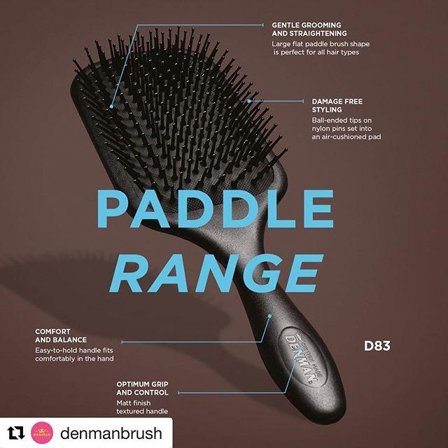 My favourite brush of all time #favouritethings #hairbrush #denmanbrush #hairtools @denmanbrush