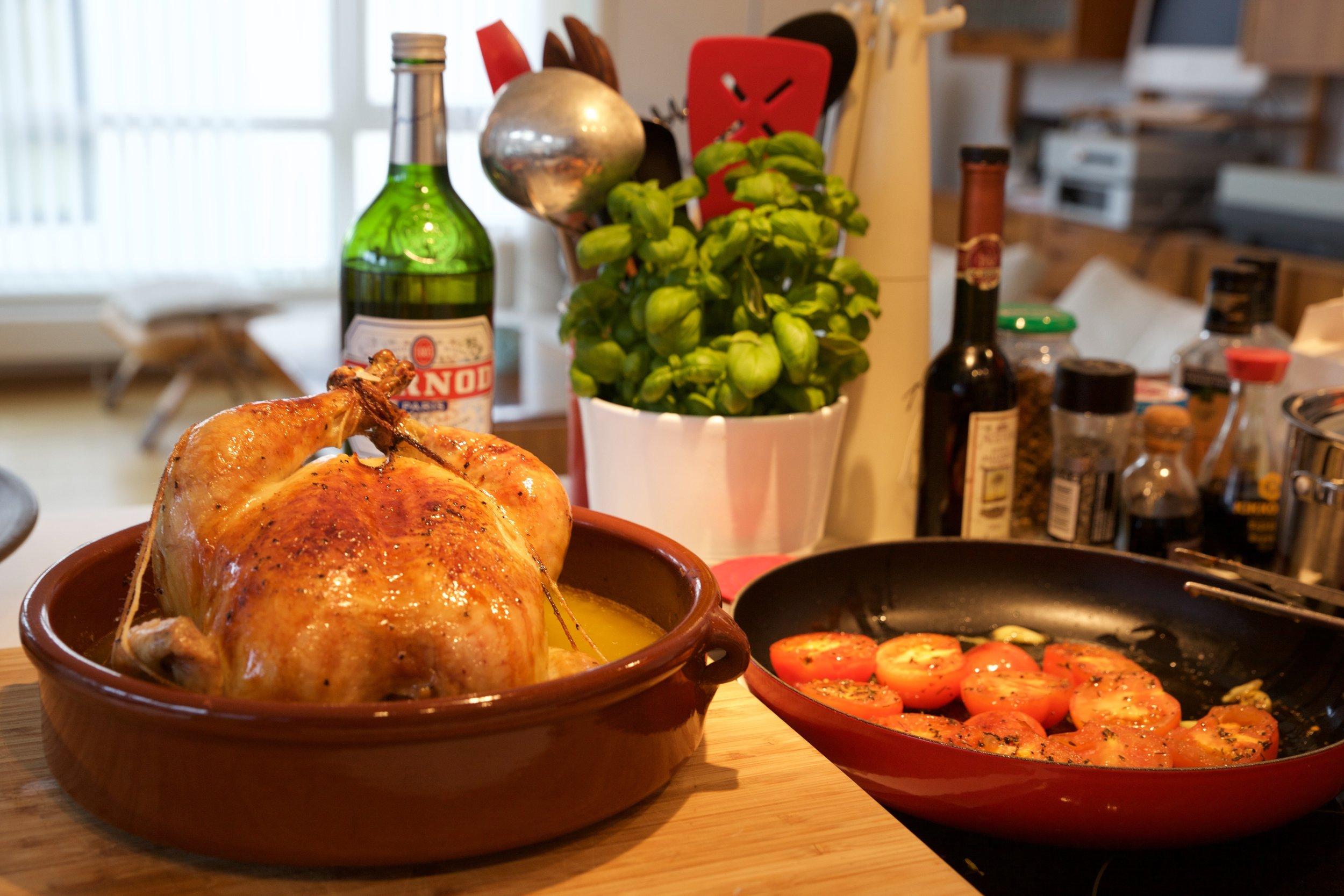 Flambert Pernod-kylling