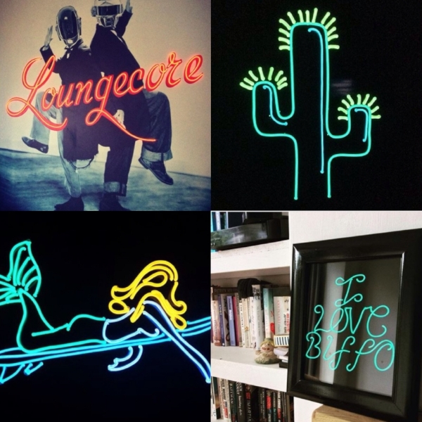 Examples of the stunning works of art created by Light Up North.   Instagram @light_up_north