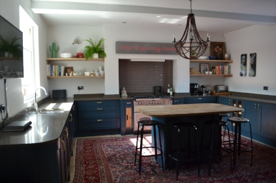 My revamped kitchen for which I slaved over Pinterest.