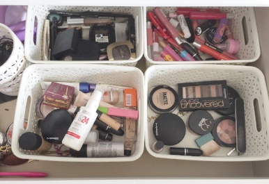 So much make up, so little time.