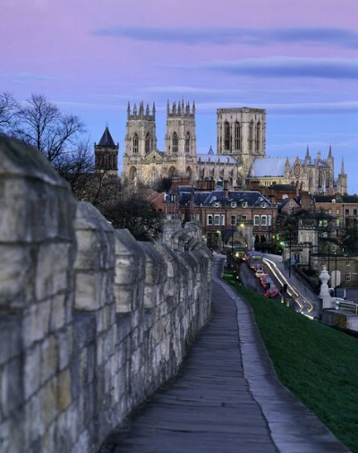 The reason why people visit.  It's not to see us.  It's because York is BEAUT.