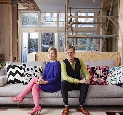 Sophie with her co Judge on GIDC, Daniel Hopwood.