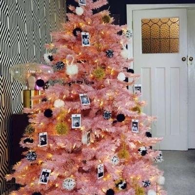 Perfect pink, pom poms and Polaroids  @sarahakwisombe