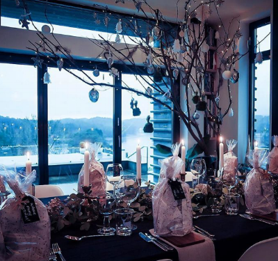 Twig tree and table setting goals in one pic  @mybespokelifestyle