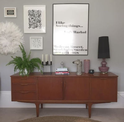 My £10 Jentique sideboard that I actually threw my body on when I saw it so no one else could buy it.