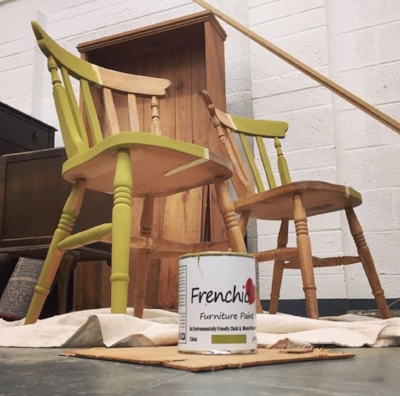 Max is Brand Ambassador for  Frenchic    Furniture Paint.