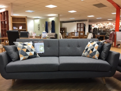 If you like the French Connection for DFS sofa, then this is The Range version at £399.99.
