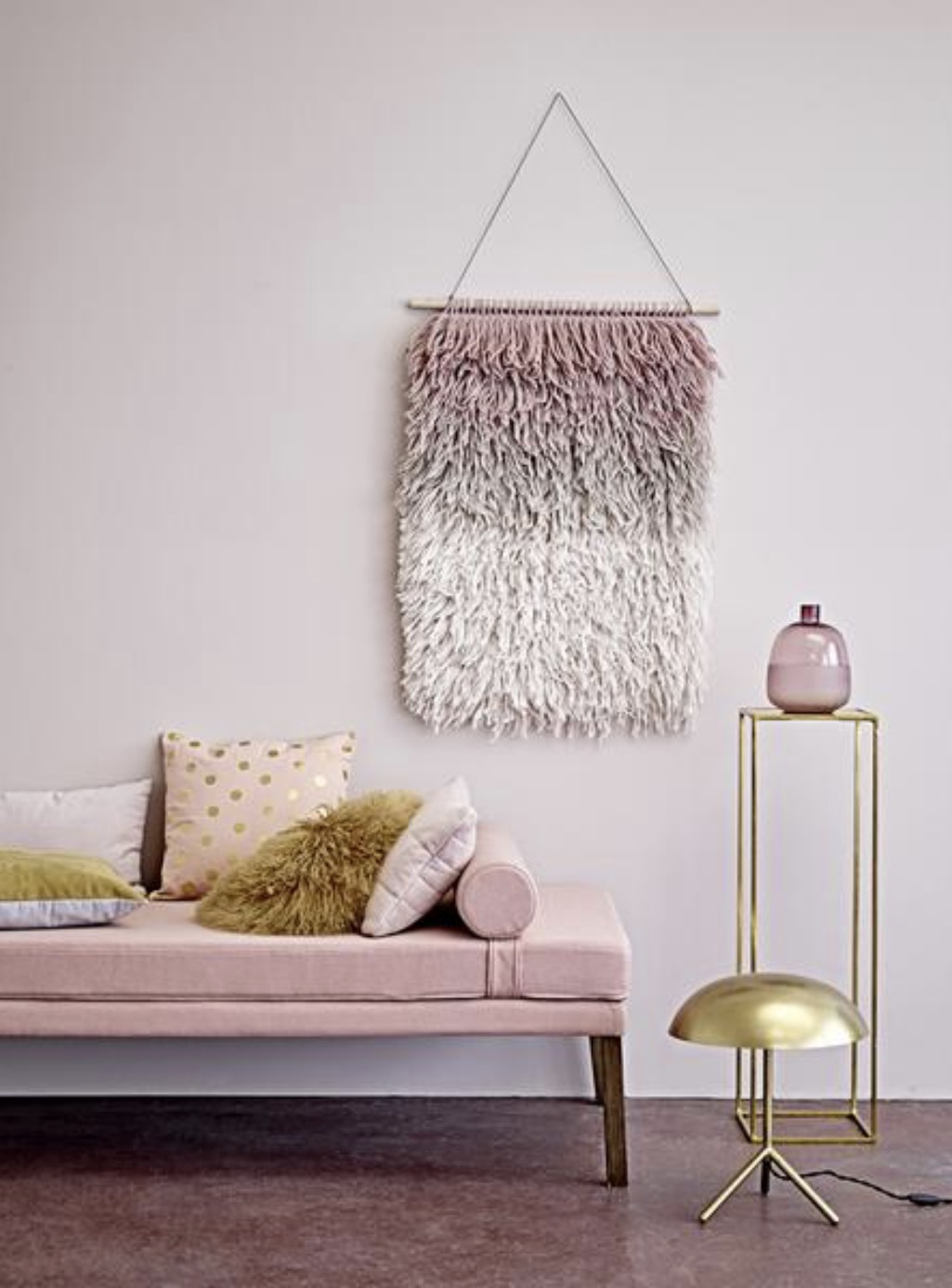 Pink Ombre Wall Hanging , Homeplace Online £72
