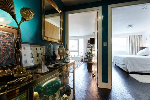 You can stay here!  How beaut is The Curious Apartment?