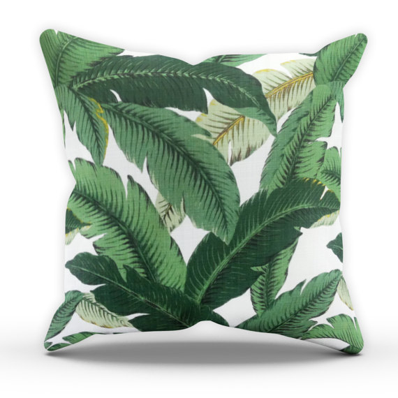 Palm leaves cushion from  Save The People 2016  £10
